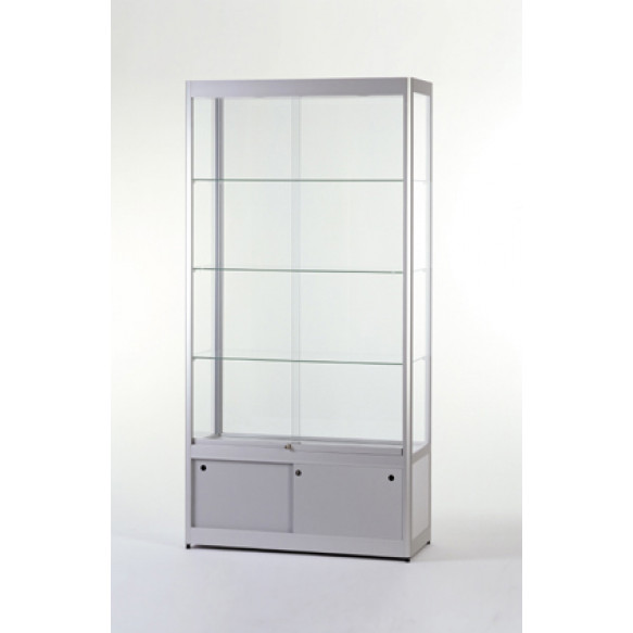 Glass Display Showcase with lower case