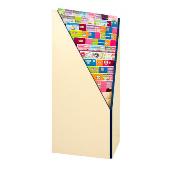 700 Series Corner Card Rack