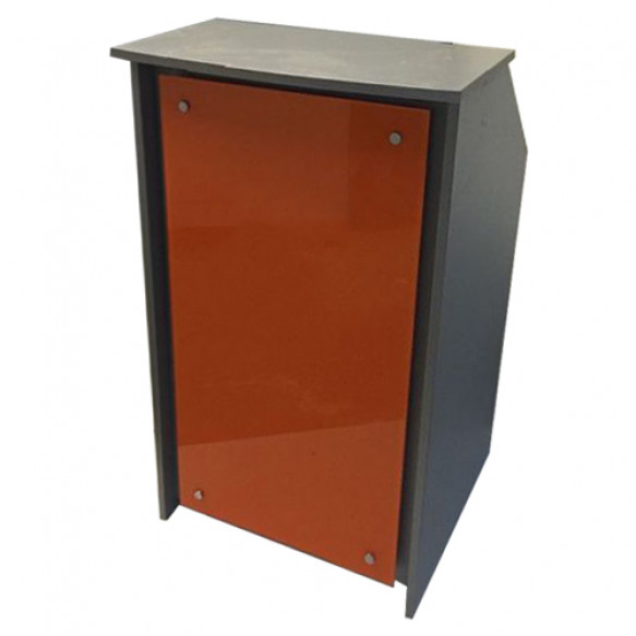 Hair & Beauty Salon Reception Desk with Glass Front