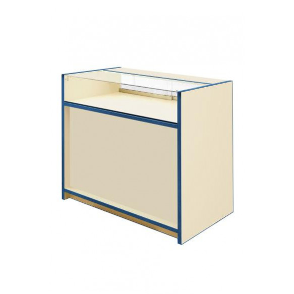 300 Series 1/3 Glass Counter - L1500mm