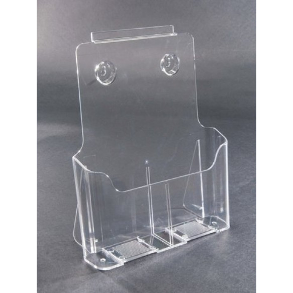 A4 Clear Plastic Card Holder For Counter or Slatboard (Box of 50)
