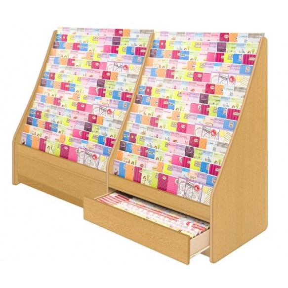 700 Series 15 Tier Continuous Card Display - 1000mm