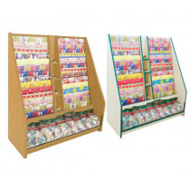 700 Series Gift Wrap Ladder Display Unit