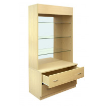 300 Series Display Unit with Mirrored Back