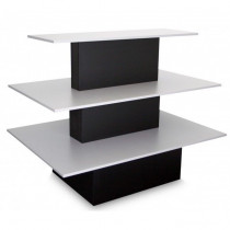 3 Tier Shelf Table Rectangle Display Counter