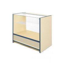 300 Series 2/3 Glass Counter - L1500mm