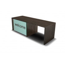 Welcome Reception Desk With Disable Access