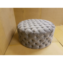 Round Salon Shop Pouffe / Footstool