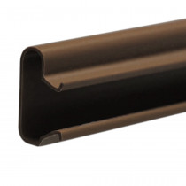 Pack of 23 Brown PVC Slatwall Inserts for Slatwall Panels
