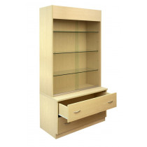 300 Series Display Unit with Plain Back