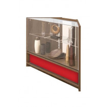 500 Series 90 Degrees 2/3 Glass Corner Counter