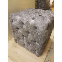 Square Salon Shop Pouffe / Footstool