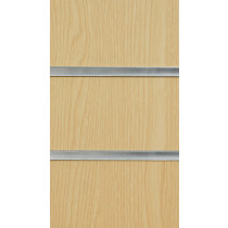 Ash Slatwall Panels with inserts 2400mm x 1200mm - 8 X 4
