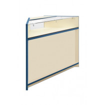 300 Series 90degree 1/3 Glass Corner Counter