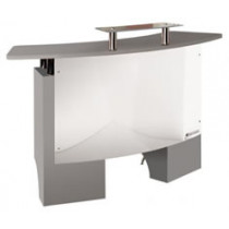 Andorra Silver Reception Desk