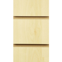 Burnham Beech Slatwall Panels with inserts 2400mm x 1200mm - 8 X 4