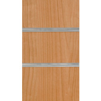 Cherry Slatwall Panels with inserts 2400mm x 1200mm - 8 X 4
