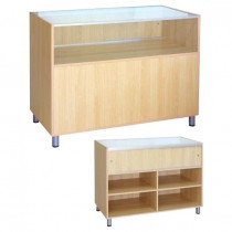 Glass Fronted Vision Counter