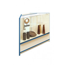 300 Series 90degree 2/3 Glass Corner Counter