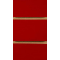 Red Slatwall Panels with inserts 2400mm x 1200mm - 8 X 4