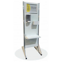 Free Standing Hand & Trolley Handle Sanitising Station