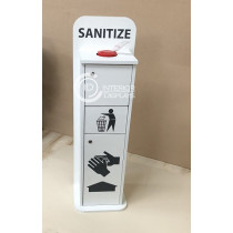 Sanitize Wet Wipe Unit